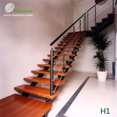 H1 Double Stringers Staircase Mansion Stairs
